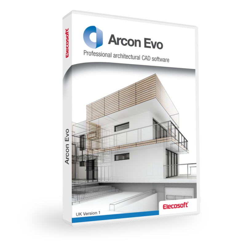 Powerful 2d and 3d architectural cad software arcon evo for 2d architectural drawing software free