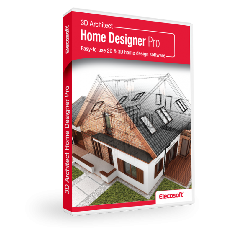 Powerful 2D and 3D architectural CAD software 3D Architect Home