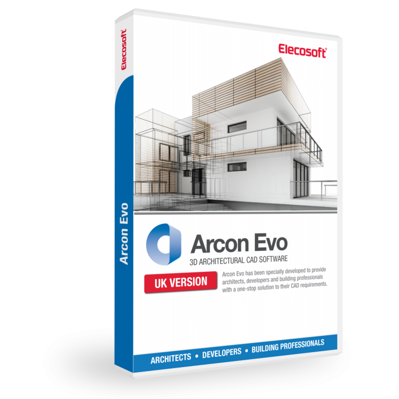 Powerful 2d and 3d architectural cad software arcon evo for 2d architecture software free