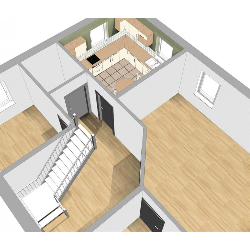 Kitchen Project2 1 Powerful 2d And 3d Architectural Cad Software 3d Architect Home On Cad Programs Home Design