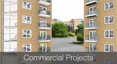 Commercial building designs