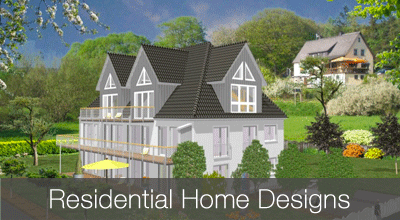 Traditional and modern house designs