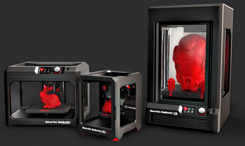 Makerbot 3D printers for architects