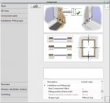 Window editor. Modify the features.