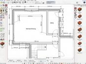 2D floor plan and gallery of available roof types